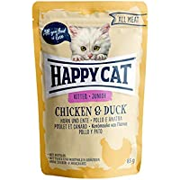 Happy Cat Pouches - All Meat - 24 x 85 gr. = 1 VE Pouch Junior Huhn & Ente