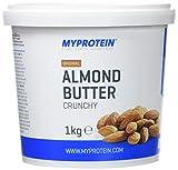 MyProtein Almond Butter Crunchy Mantequilla de Almendras, Sabor Almendra - 1000 gr