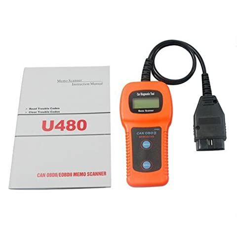 New Generic U480 OBD2 OBDII EOBD CAN-BUS Auto Scanner ENGINE