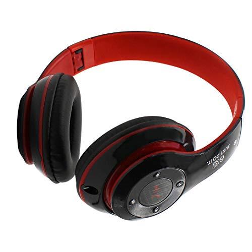Swiftswan Gaming Headsets, Super Bass Drahtlose Bluetooth Over-Ear Gaming Headset Spiel Kopfhörer Stirnband für Laptop Tablet Handy