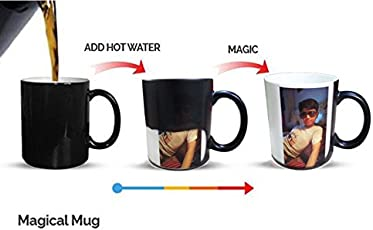 D&Y Color Changing Magic Photo Mug - Personalized with Photo