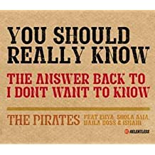 You Should Really Know By Naila Boss & Ishani The Pirates featuring Shola Ama (2004-08-30)