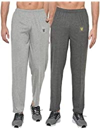 Vimal Men's Poly Cotton Trackpants (Pack of 2)