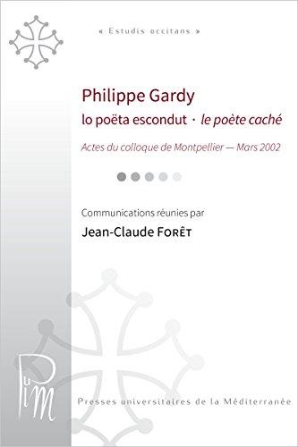 Philippe Gardy. Lo pota escondut - le pote cach