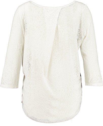 Garcia Damen Langarmshirt U60026 winter white (27)