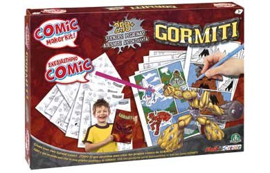 Gormiti Comic Maker Kit