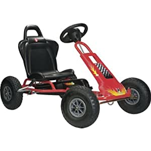 Worthy Ferbedo Red Air Runner ar-1 Go Kart with accompanying Adv. Vibration Alarm