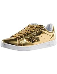 82cb9853ff951 Ellesse Donna Antique Oro Anzia Metallic Sneaker