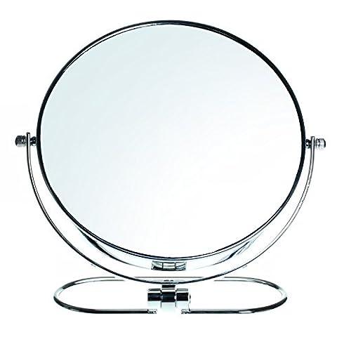 Miroir Grossissant 8 Fois - HIMRY Miroir Maquillage Pliable, 10X Grossissement, 8