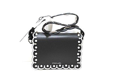 hot sale online 0f3db d535c Tosca Blu - Bolso cruzados para mujer Negro negro 19x23x9 cm