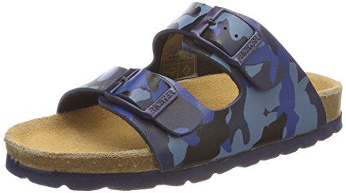 Richter Jungen Bio Pantoffeln, Blau (Lagoon/6910), 37 EU (Bio-shopper)