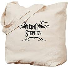CafePress–King Stephen–Gamuza de bolsa de lona bolsa, bolsa de la compra Small caqui