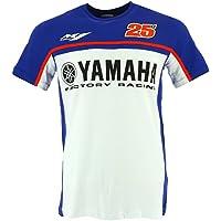 Maverick Vinales 25 Moto GP Yamaha Factory Racing Camiseta Oficial 2017