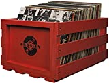 Best Crosley Vinyl Albums - Crosley AC1004A-RE Record Storage Crate Holds up to Review