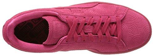 Puma Damen Classic Col Low-Top Rot - Rouge (Rose Red/Rose Red)