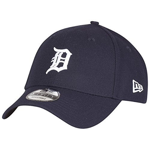 New Era The League 9Forty Adjustable Cap DETROIT TIGERS Dunkelblau, Size:ONE SIZE