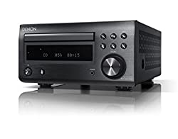 Denon D-M41DAB Hi-Fi Receiver with CD and Bluetooth - Black