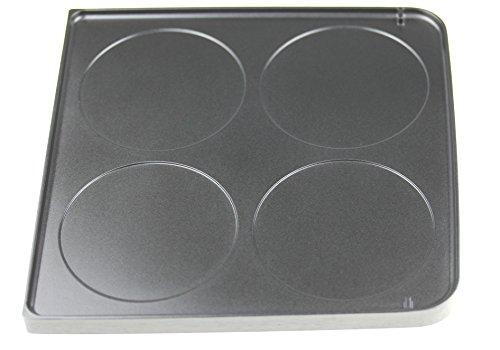 Severin 7228048 Grillplatte (doppelseitig) für RG2341 Raclette