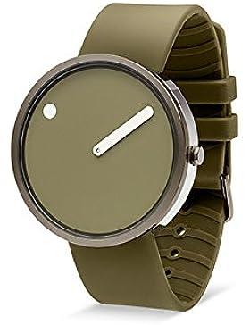 Rosendahl Unisex-Armbanduhr Picto Analog Quarz Silikon 103972V000002