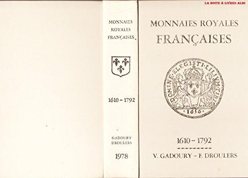Monnaies Royales Franaises 1610  1792 Numismatique Ordres, Dcorations, Billets, Assignats, cus, Deniers, Rouelles, Anneaux, Jetons, Mreaux, Mdailles, Monnaies