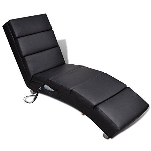 Festnight Relaxliege Liegesessel Chaiselongue Elektro Massageliege 2 Farbe Optional