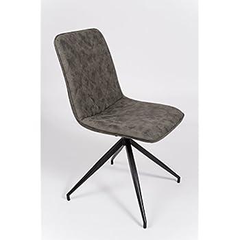 cavadore stuhl indira 360 drehbar 2er set stuhl ohne armlehne in modernem design. Black Bedroom Furniture Sets. Home Design Ideas