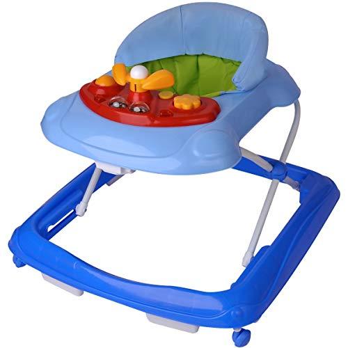lfe WALKY mit Spielcenter für Baby/Kinder (Hellblau) ()