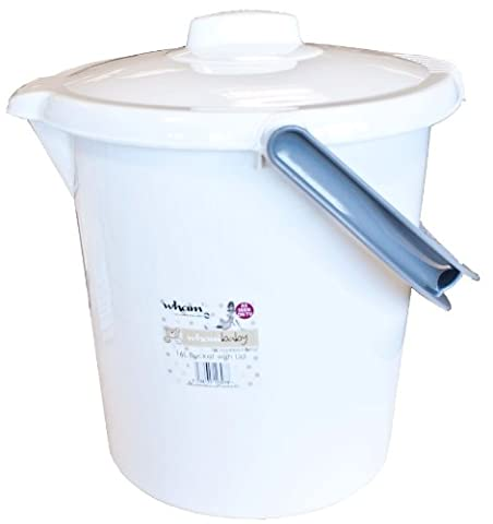 Wham Casa 16 Litre Nappy Bucket with Lid -
