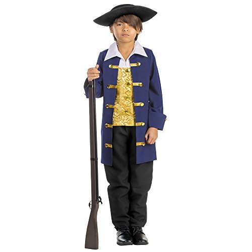 Boy's Colonial Aristocrat Costume - Size Medium 8-10 by Dress Up - Colonial Boy Kostüm Kind