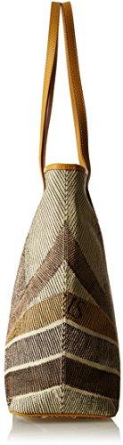Gattinoni Gacpu0020000, Borsa a Spalla Donna, 13.5x31x35 cm (W x H x L) Beige (Deserto)
