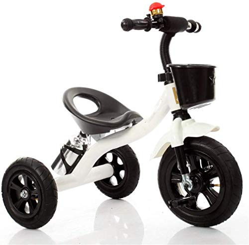 H.aetn Triciclo Cochecito de bebé Bicicleta Niño Juguete Coche Rueda Inflable/Rueda de Espuma Bicicleta...