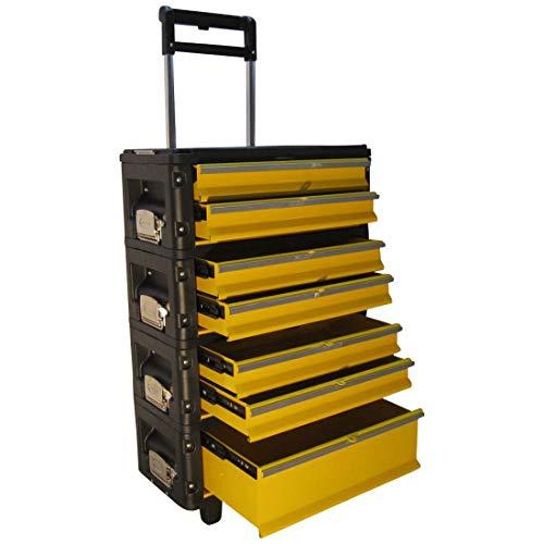Metall Werkzeugtrolley XXL Type 305BBBC -> jetzt neu mit Schubladenverriegelung und Schloss von AS-S