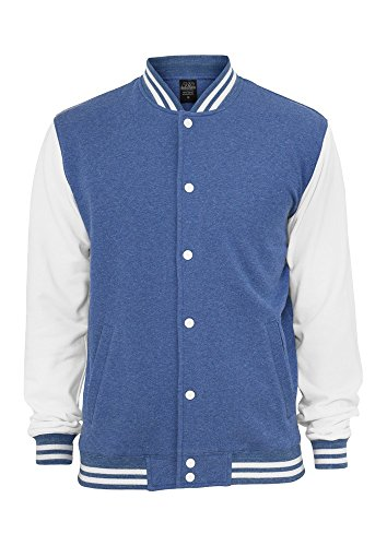 TB423 Melange College Sweatjacket Herren Fleece Jacke