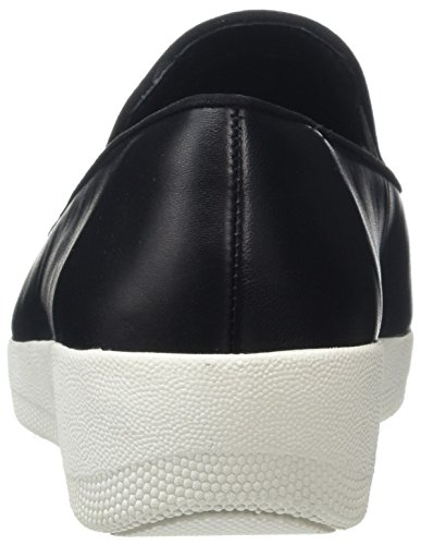 Fitflop Superskate, Mocassini Donna Black (Black 001)