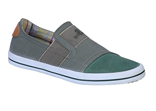 Woodland Men's Olive Green Sneakers - 8 UK/India (42 EU)(GC 2038116C)  available at amazon for Rs.1397