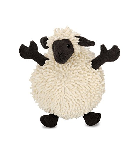 Quaker Pet Products goDog Fuzzy Wuzzies 770613 Sheep Assortment Plush Dog Toy, Sonstige, mehrfarbig, 13.79x17.78x13.46 cm