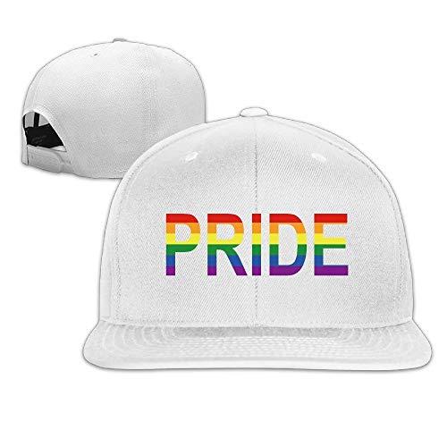 0f671f33fe5d SunRuMo LGBT Gay Lesbian Pride Baseball Hat Snapback Custom for Man