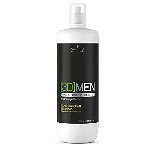 Schwarzkopf 3Dmen Anti-Dandruff Shampoo 1000