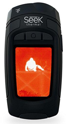 Seek Thermal RevealXR - Cámara térmica con control de exportación de velocidad de imágenes (300 lúmenes) negro