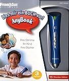 DRP-3000D/AnyBook - audio-digitaler Vorlesestift, 15-Stunden-Edition, inkl. 260 Sticker: Elektronisches Aufzeichnungs- und Wiedergabe-Gerät mit 15 optischen Sensor (OID) an der Stiftspitze.