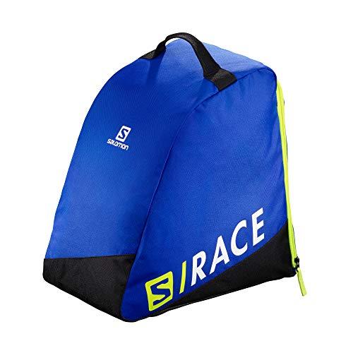 Salomon Original Bootbag, Sacca Portascarponi da Sci Pratica e Spaziosa, LC1171400 Unisex Adulto, Blu (Race Blue)/Giallo Neon (Neon Yellow Scfl), Taglia Unica