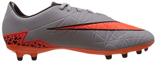 Nike Hypervenom Phelon II Fg, Scarpe da Corsa Uomo Grigio (Grau (Grau/Orange))