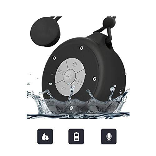 Gugio Altavoz Bluetooth V4.1 Ducha Impermeable Inalámbrico con Ventosa (Estéreo, IPX4,hasta 3...