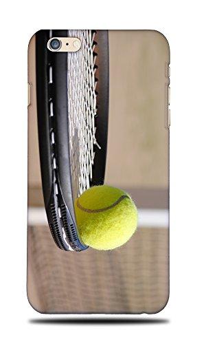foxercases Design Tennis Schläger und Ball (Harte Rückseite Schutzhülle für Apple iPhone 6Plus/6S Plus -