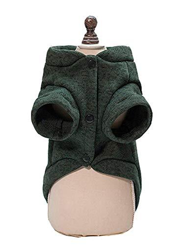 pagacat Capispalla per Abbigliamento per Animali Domestici Cotone Morbido e Adorabile Casette per porcospini