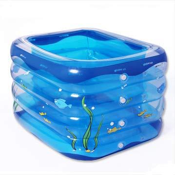 Baby Pool, übergroße Familie Baby Pool, Aufblasbares Pool Aufblasbares Faltbad, Kindergeschenk - 120 * 106 * 75cm