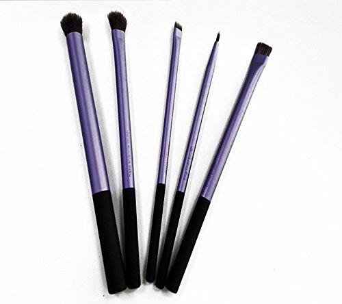 5 Violet de maquillage Brosse à l'eau Ice Levin Fard à paupières Eyeliner Fond de teint Estompeur pour les yeux