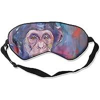 Sleep Eye Mask Oil Chimpanzee Lightweight Soft Blindfold Adjustable Head Strap Eyeshade Travel Eyepatch preisvergleich bei billige-tabletten.eu