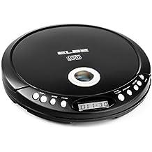 Elbe CDMP-3600 - Reproductor de CD portátil con MP3, color negro