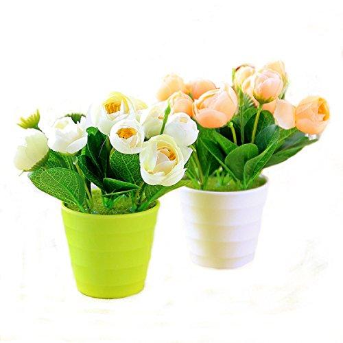 Simulation De Plantes Bonsai Rose Mariage Décoration Décoration